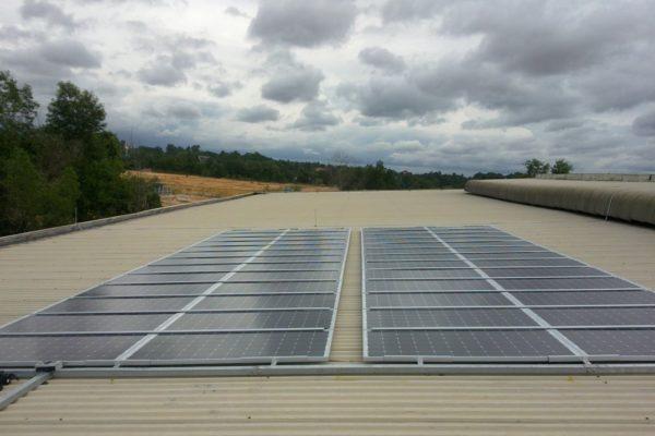 100 Solar panels
