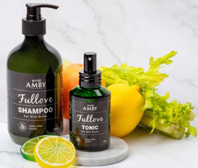 Amby London Fullove Shampoo & Tonic lifestyle